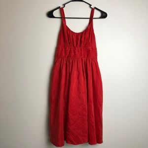 Anthropologie Moulinette Soeurs Red Dress